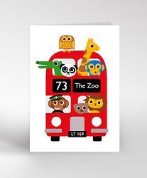 THE ZOO BUS Card