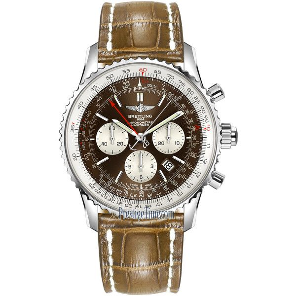 Breitling Navitimer Rattrapante ab031021/q615/754p Watch ($8,672) ❤ liked on Polyvore featuring men's fashion, men's jewelry, men's watches, stainless steel, blue dial mens watches, mens stainless steel watches and breitling mens watches