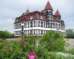 The castle on the hill.   Lunenburg NS