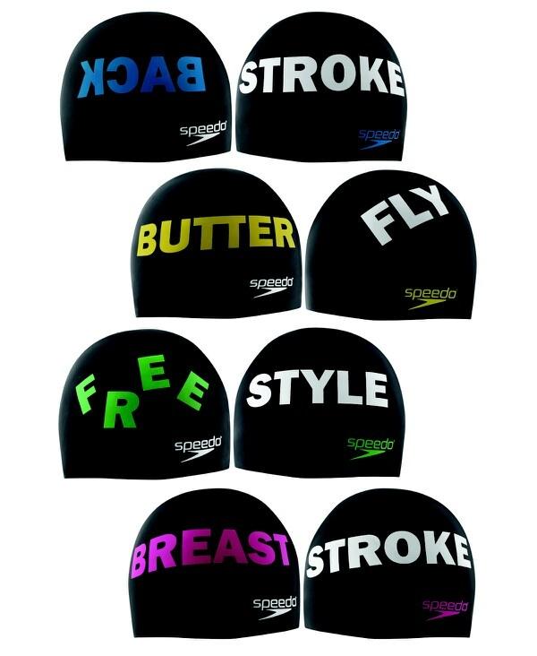 I love the back stroke cap