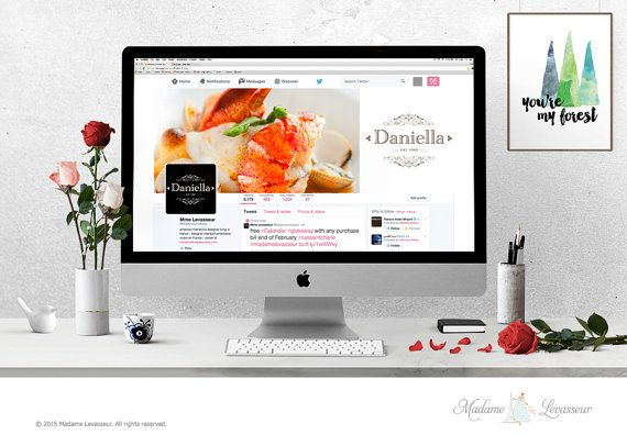 wordpress header design hero image header premade by thepariswife