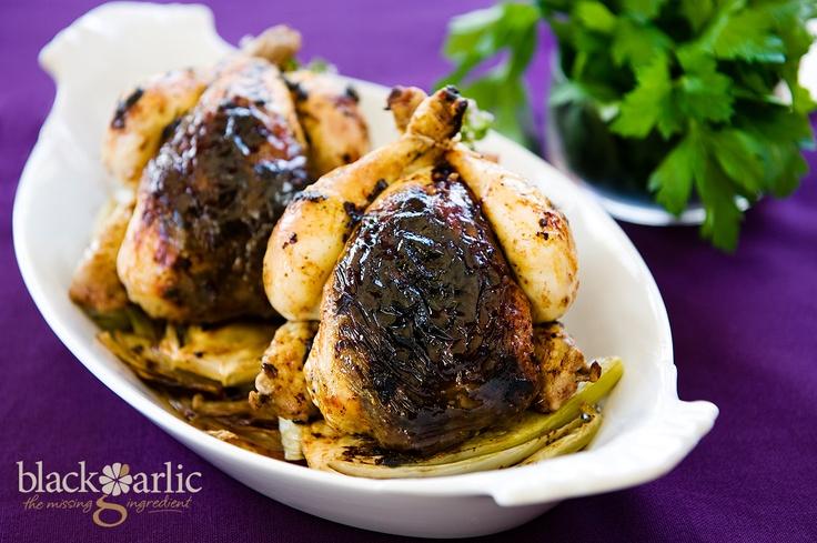 Black Garlic Chicken. Visit http://blackgarlic.co.uk for more information and inspiration.