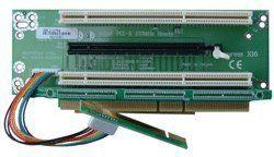 2U 1 x PCI-Express 16x and 2 x 64Bit PCI-X Riser Card by Circotech. $73.00. 2U 1 x PCI-Express 16x and 2 x 64Bit PCI-X Riser Card