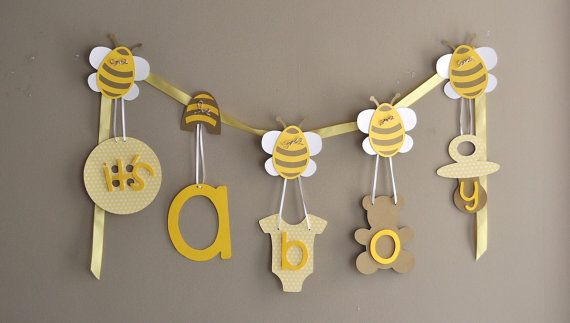 bumble bee baby shower decorations what will it bee