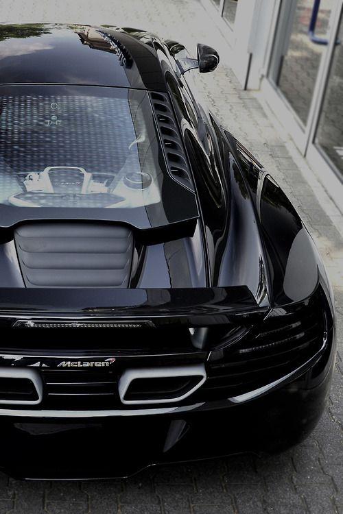 McLaren - looks better in black...
