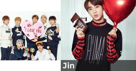 Jin | Which BTS Member's Ideal Type are you?