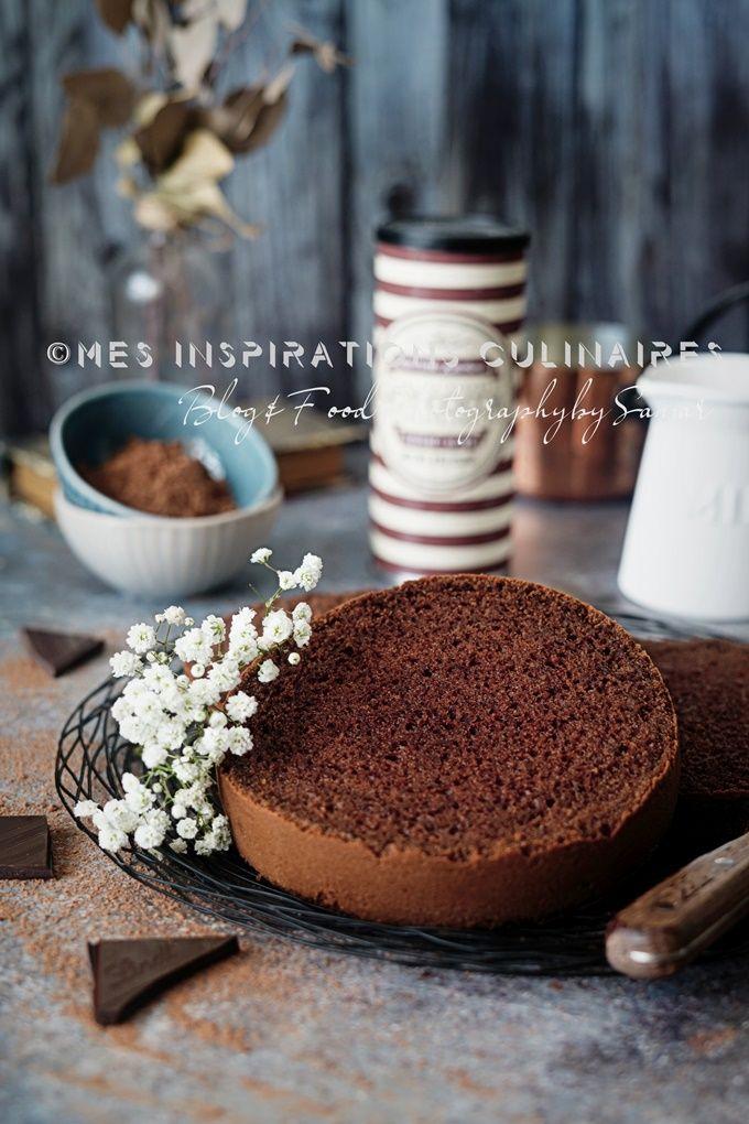 Genoise Au Chocolat Facile Et Inratable Le Blog Cuisine De Samar Recette Genoise Chocolat Gateau Fraise Facile Recette Fraisier