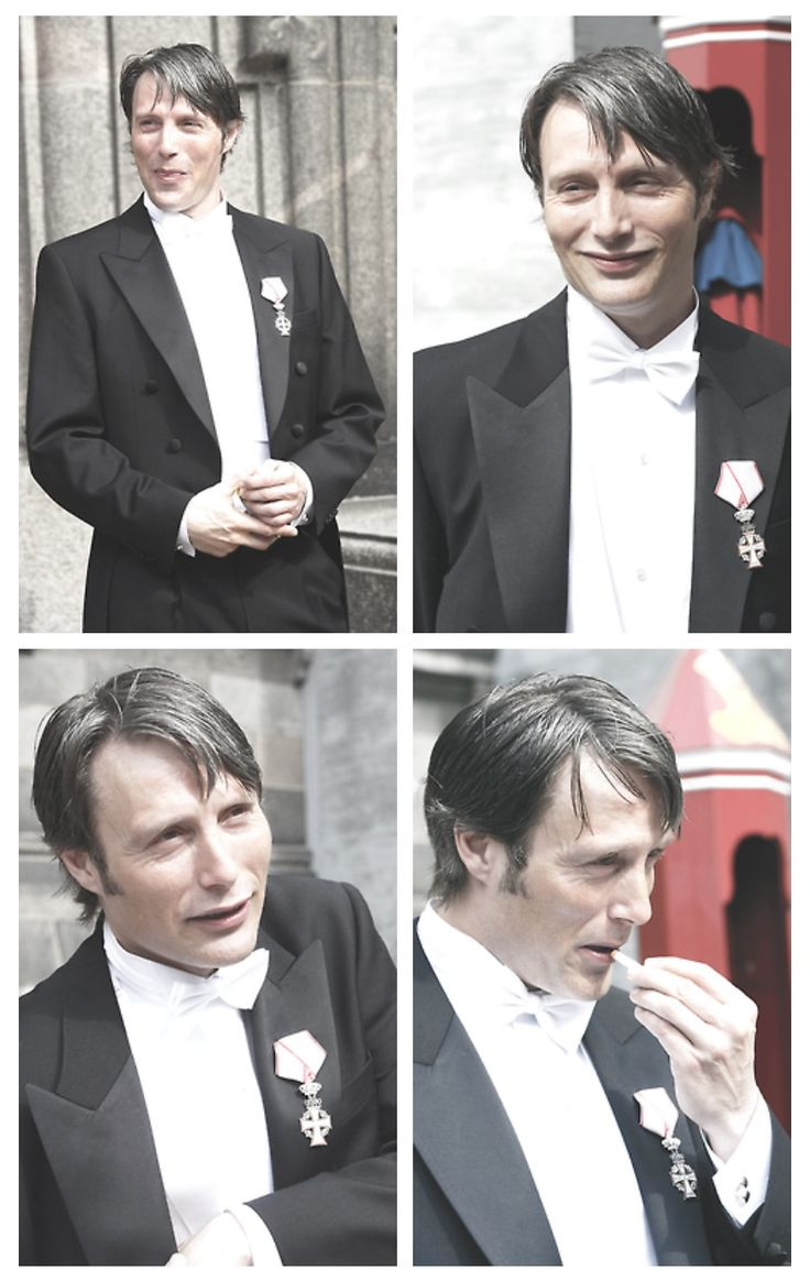 Mads Mikkelsen knighted by the Danish court