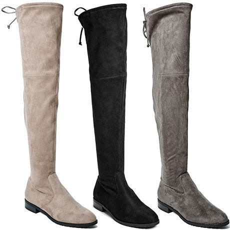 "G by Guess ""Simplee"" Flat Faux Suede Over-the-Knee Boots, $59 (on sale!) 