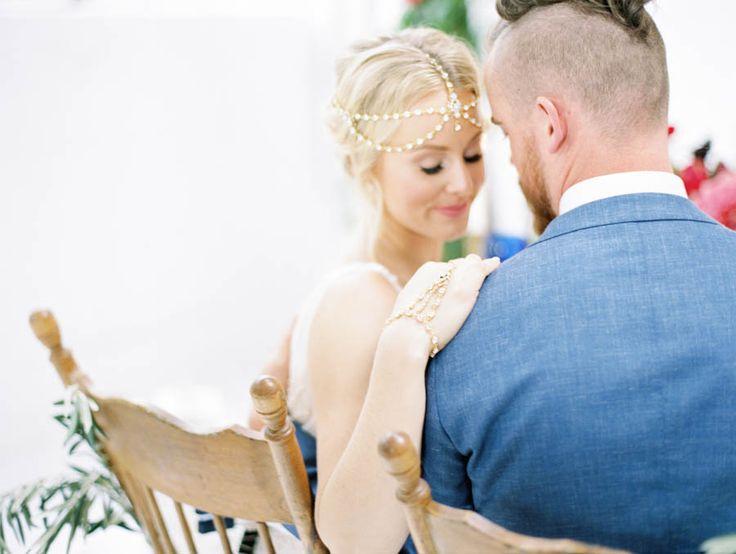 Destination wedding, Santorini, bride and groom, sweetheart table