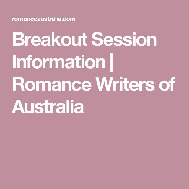 Breakout Session Information | Romance Writers of Australia