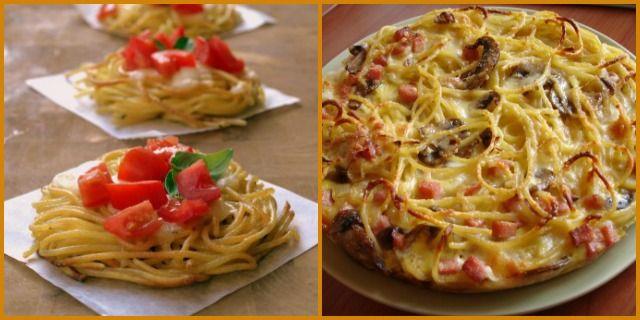 """Come riciclare la pasta avanzata: la """"finta pizza"""" - Non Sprecare"""