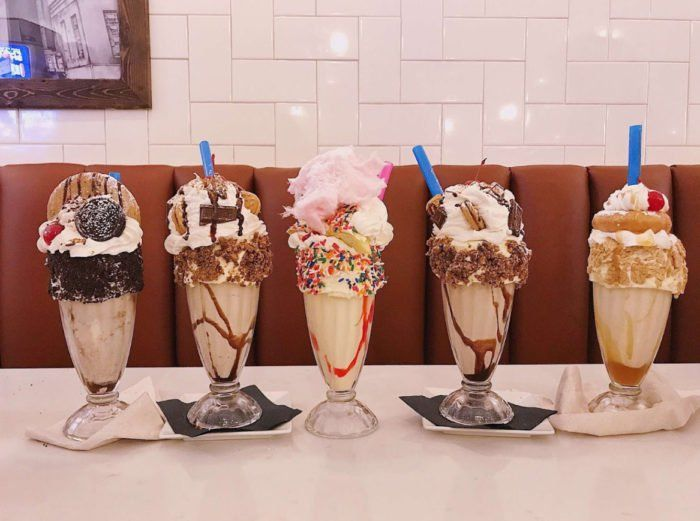 The Milkshakes From This Marvelous North Carolina Restaurant Are Almost Too Wonderful To Be Real North Carolina Food Milkshake Winston Salem North Carolina