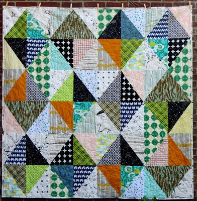 Half Rectangle Quilt