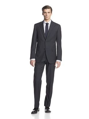 -34,400% OFF Cerruti 1881 Men's Drop 7 Classic Fit Suit (Grey Stripe)