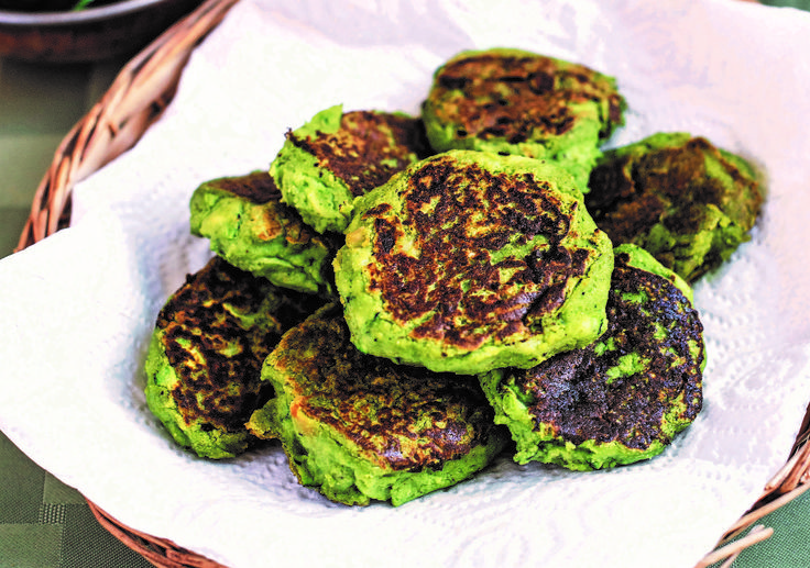 Sunflower Squash Fritters Recipe — Dishmaps