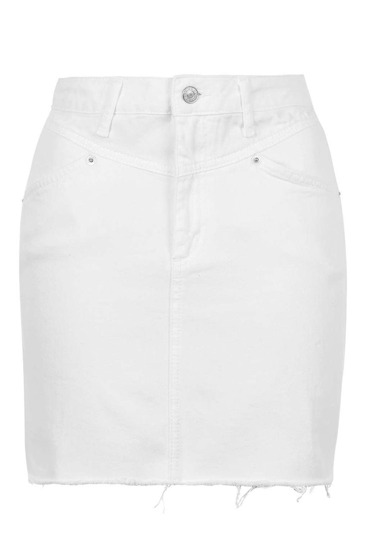 17 Best ideas about White Denim Skirt on Pinterest | White denim ...