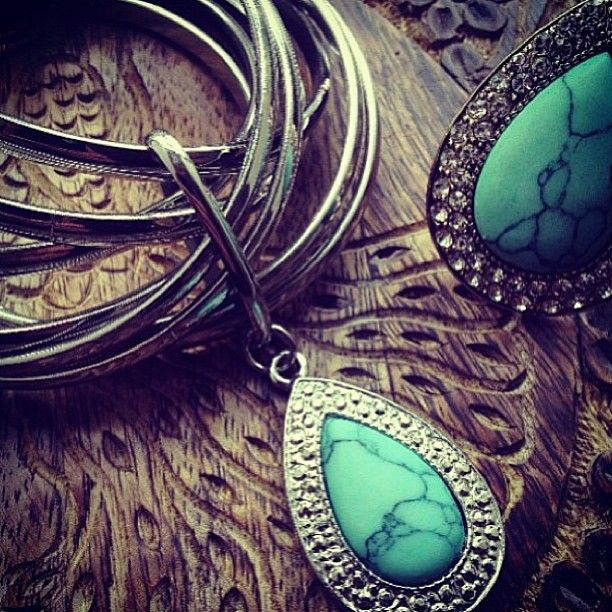 SAMANTHA WILLS - Turquoise Decadence; Bohemian Bangle Ring Jewellery Jewelry Bardot