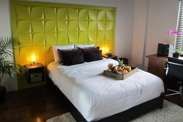 La chambre à coucher de Bruno Landry