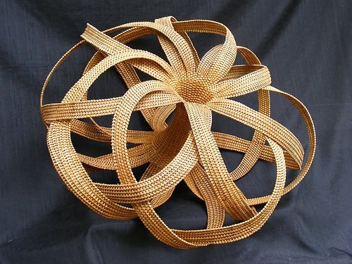 "This piece is called ""Number 28.""  It was shown in  the Beyond Basketry 2008 show at Dairy Barn in Athens, OH, and appears in the full color catalog of the same name."