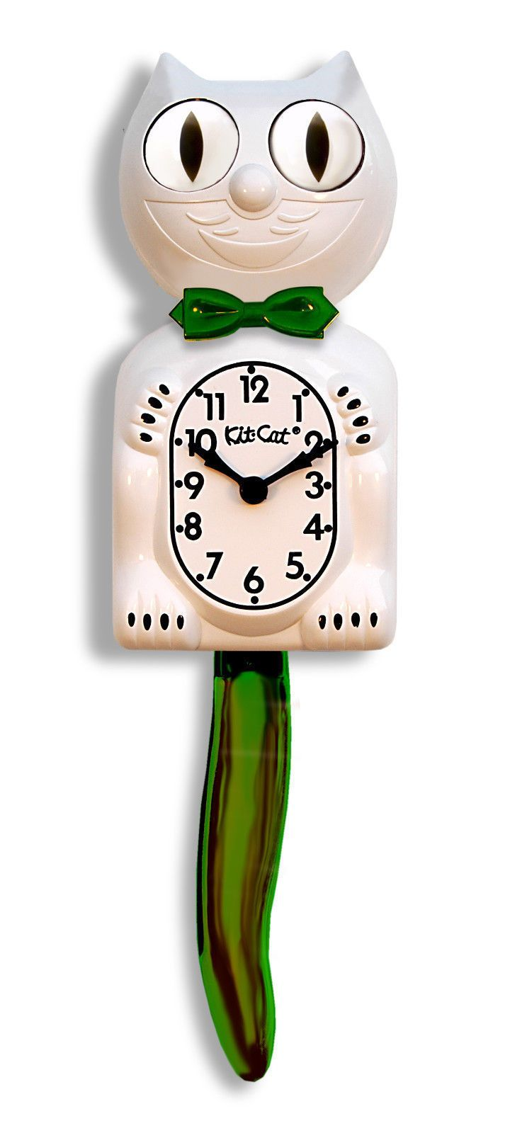 31 best kit cat clocks images on pinterest clocks airstream and candy cane green white christmas kit cat clock free batteries bc 12cg new ebay amipublicfo Gallery