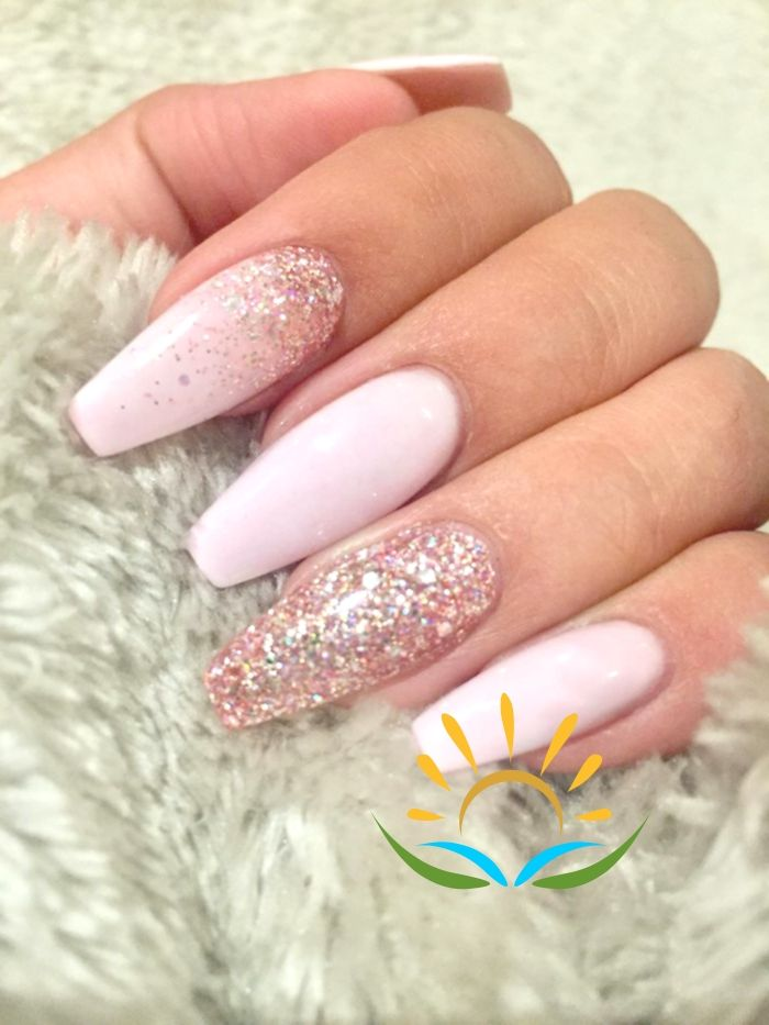 32 Gorgeous Pind Neutral Nail Designs For Lovely Girls Page 14 Of 32 Getbestidea Natural Acrylic Nails Umbre Nails Ombre Acrylic Nails