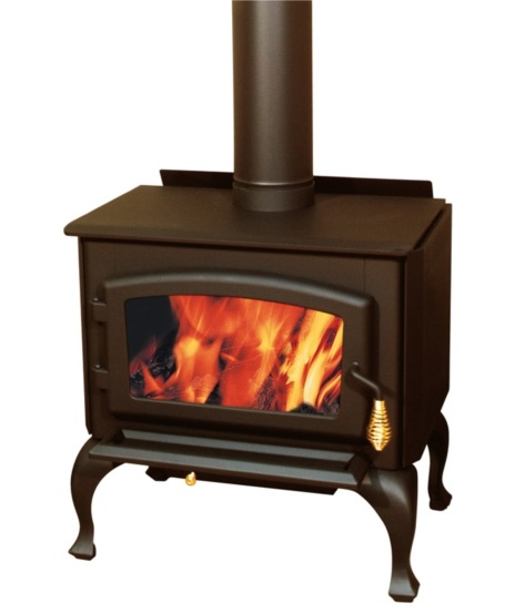 Great small wood stove with queen anne style legs for Small efficient wood stoves