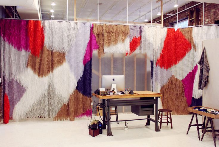 - whoa curtain: Confettisystem, Curtains, Offices Spaces, Colors Palettes, Wall Dividers, Creatures Of Comforter, Paper Wall, Confetti System, Offices Wall