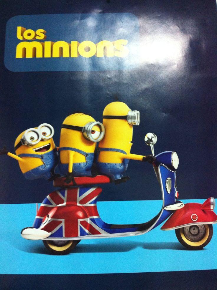 Good Morning¡¡¡  Los Minions llegan a C.L.A. desde London City, ¡¡ Ven a aprender inglés con ellos y a divertirse¡¡ ;)  PASEO ZORRILLA 197 / 983083861