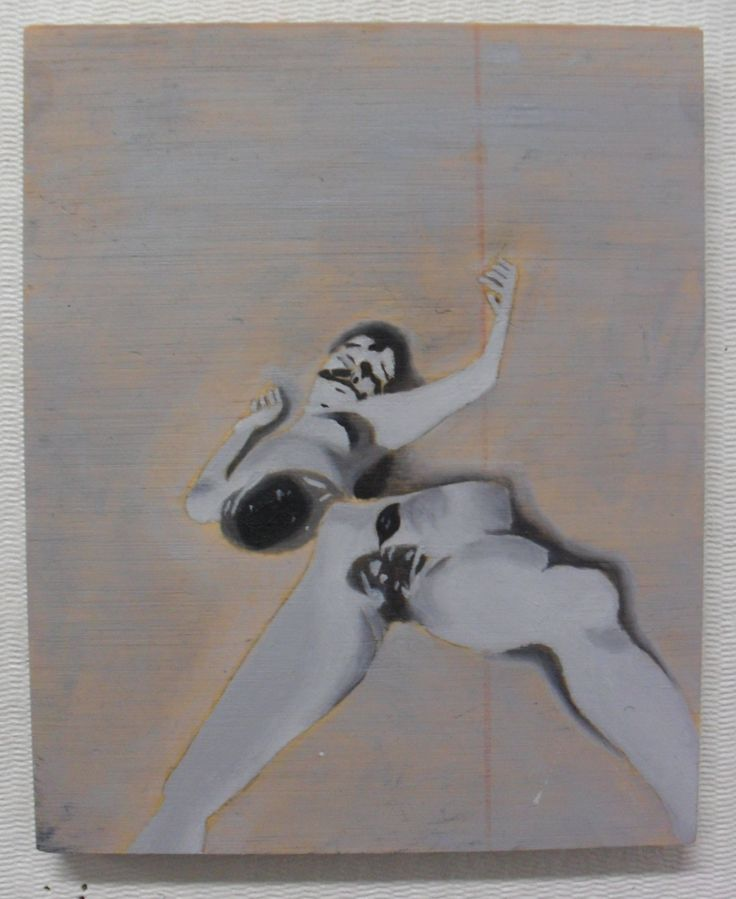 Black Dahlia - Oil on plywood - About A5 in size.