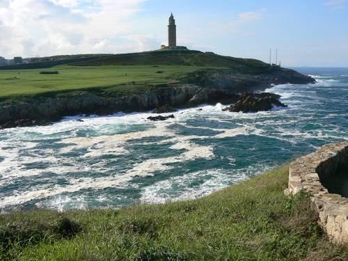 Torre de Hercules, A Coruña, Galicia, Spain