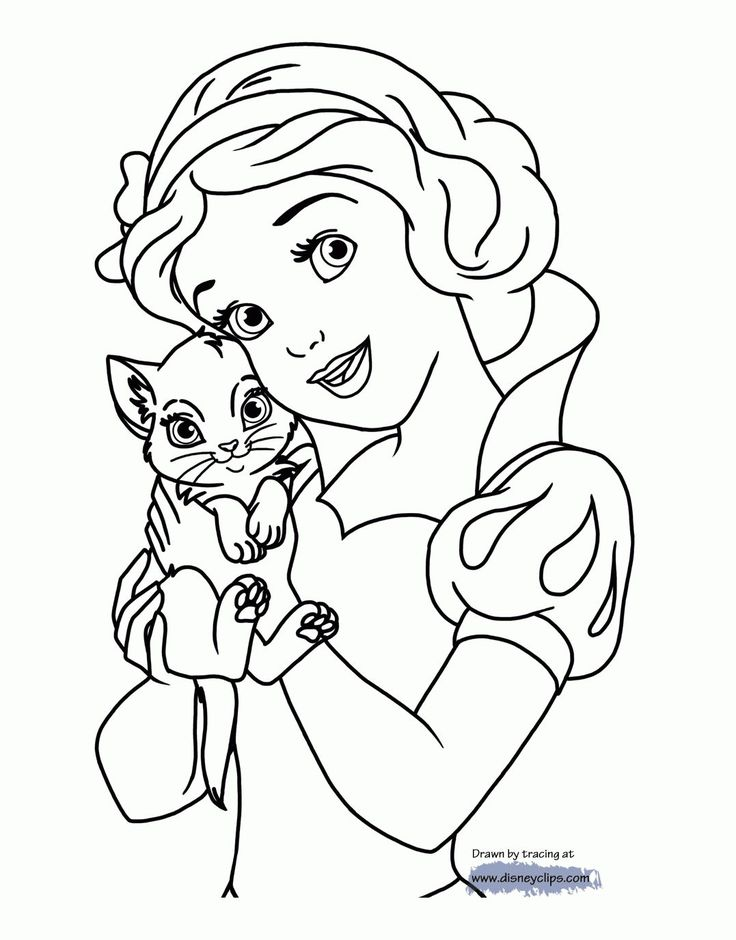 57 best coloring pages lineart disney snow white images on for Coloring pages for snow white and the seven dwarfs