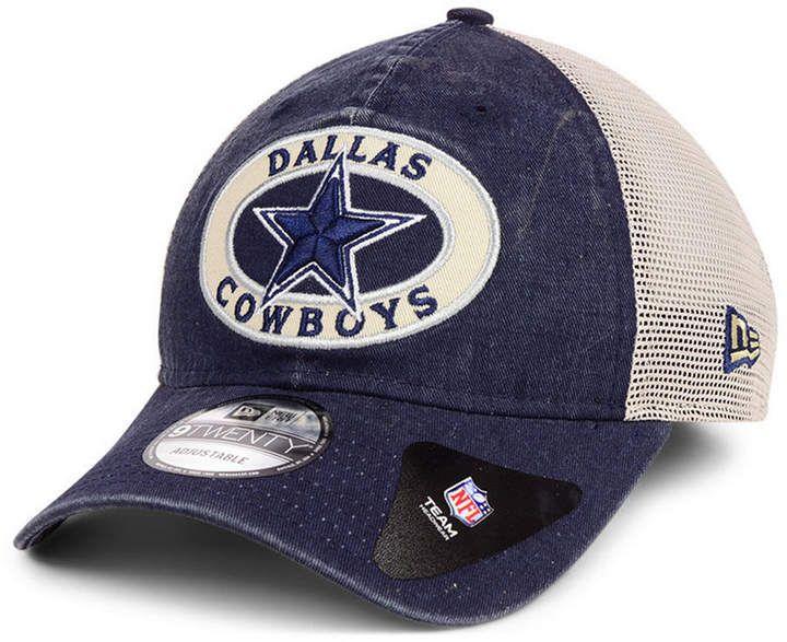 edcec17c75b New Era Dallas Cowboys Patched Pride 9TWENTY Snapback Cap - Blue ...
