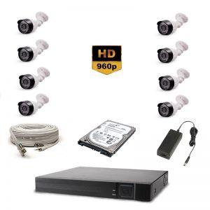 8'Li AHD HD Güvenlik Kamera Seti 1.195,00