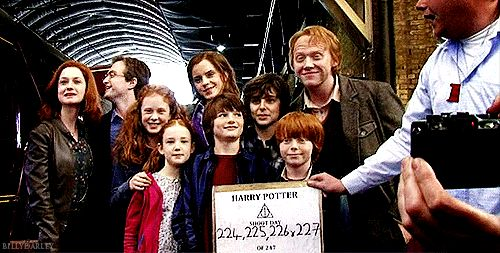 Harry Potter epilogue <3  Excuse me while I cry