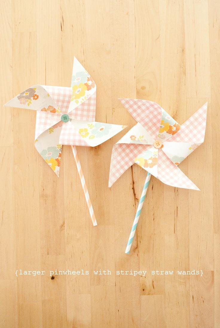 paper pinwheel tutorial {stevie pattyn for shop sweet lulu}