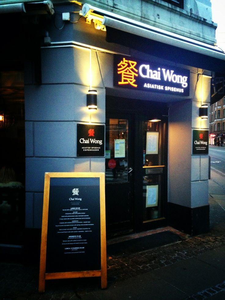 Chai Wong www.chaiwong.dk ligger på Thorvaldsengsvej 2 på Frederiksberg. Her kan man spise Biksemad på asiatisk i følge hjemmesiden. Restaurant har fået rigtig gode anmeldelser, vores oplevelse var også i top, en kold lørdag i januar.