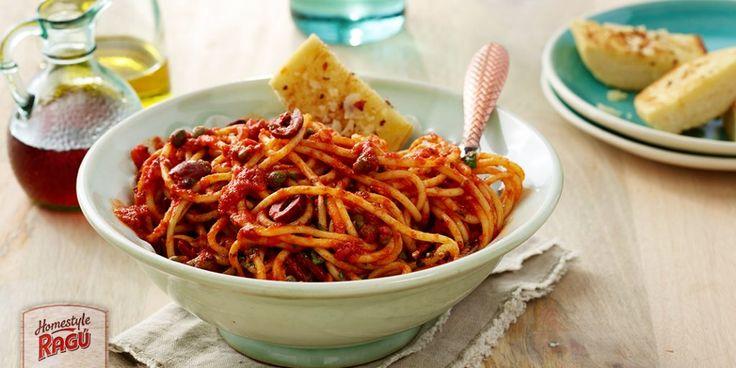 Spaghetti Puttanesca Recipe on Yummly. @yummly #recipe
