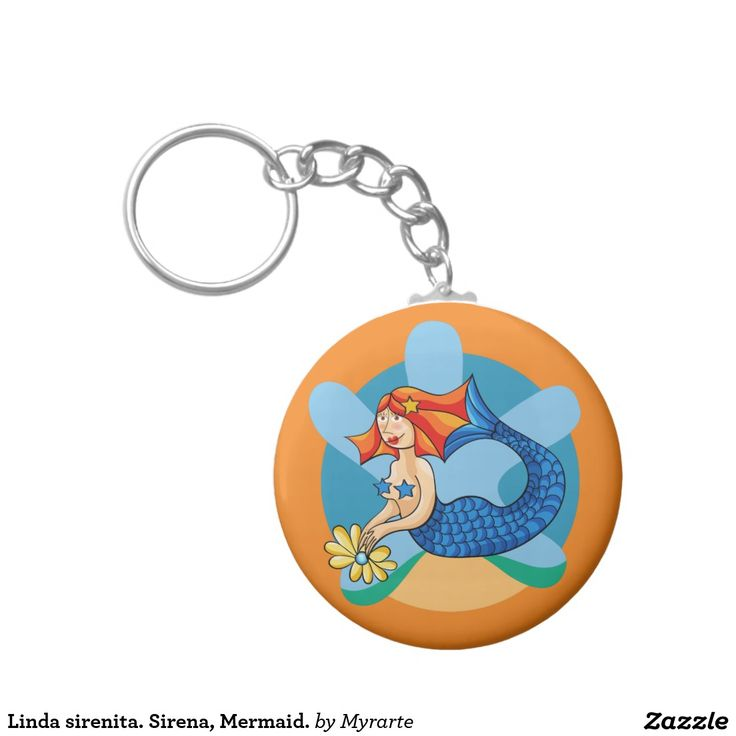 Linda sirenita. Sirena, Mermaid. Basic Round Button Keychain. Producto disponible en tienda Zazzle. Product available in Zazzle store. Regalos, Gifts. Link to product: http://www.zazzle.com/linda_sirenita_sirena_mermaid_basic_round_button_keychain-146970375947040175?CMPN=shareicon&lang=en&social=true&view=113191793730158827&rf=238167879144476949 #llavero #KeyChain #sirena #mermaid