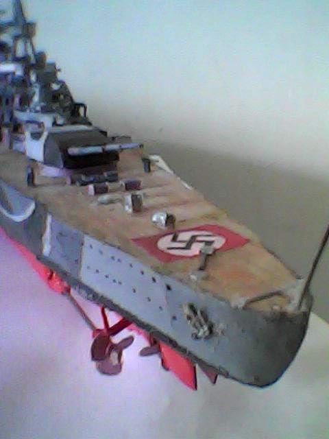 Dkm Scharnhorst, escala 1/700, de papel