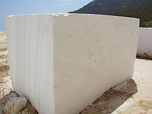 #Prinos #Marble #Pure #White by Mertika Marble LTD