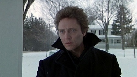 The Dead Zone - one of the better movie adaptations of a Steven King novel. Christopher Walken is perfectly cast as Johnny, a school teacher who suffers a near fatal car accident and spends 5 years in a coma. Upon awakening, he finds he has acquired the ability to see a person's fate by simply touching them. The ending is bittersweet and tragically sad, as Johnny realizes his former life is lost, and he makes the ultimate sacrifice to save the world from an evil would-be senator (Martin…