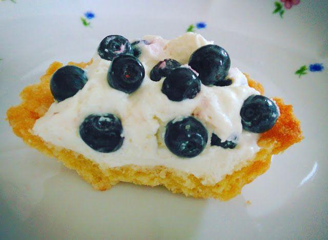 Słodkie babeczki - tartaletki z owocami - przepis w blogu
