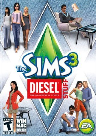 The Sims 3 Diesel Stuff  Price: $15.00
