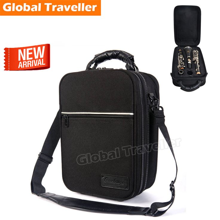 Soft & Lightweight Waterproof & Anti Pressure Protection Instruments Bb Clarinet Case Clarinet Shoulderbag  Clarinet Backpack