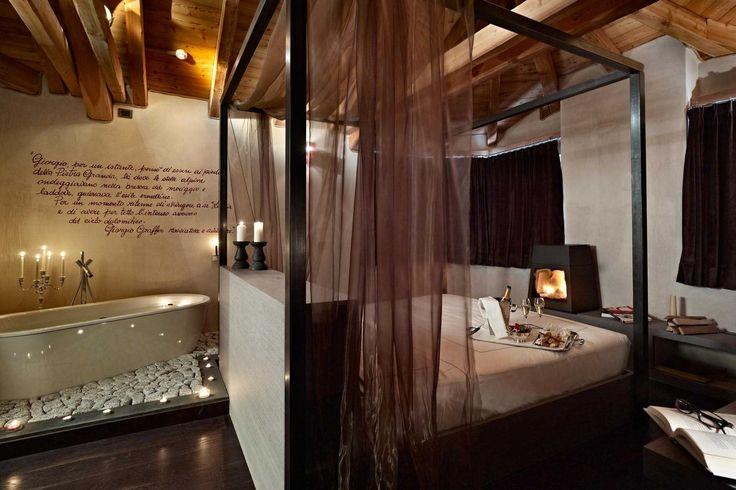 Vacanza di charme a Madonna di Campiglio, design hotel DV Chalet. #trentinocharme #madonnadicampiglio