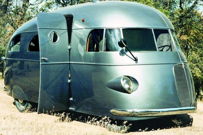 Extremely Rare 1940 Streamliner Rv Travel Trailers