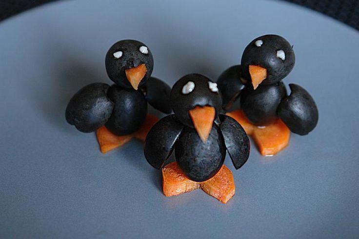 Oliven Pinguine