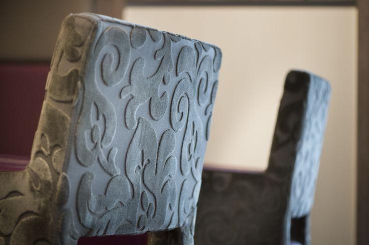 STELLA PG armchair , backrest, detail