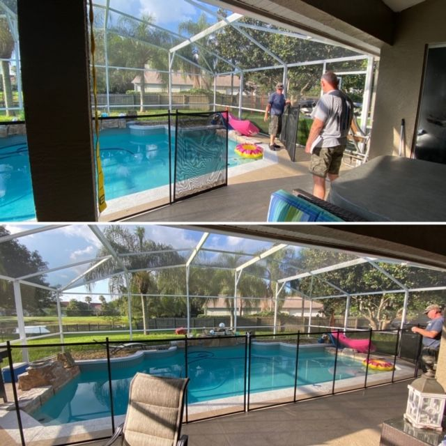 Did You Know That 40 Of The Pool Fences We Install Are At The Grandparents House 407 365 2400 In 2020 Pool Fence Pool Florida Pool